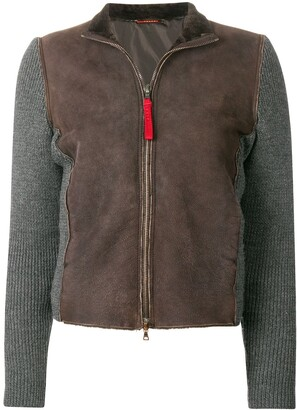 Prada Pre-Owned 2000's knitted sleeves jacket