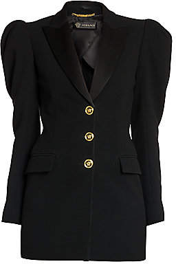 Versace Women's Envers Puff-Sleeve Jacket