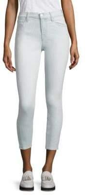 J Brand 835 Pinstriped Capri Jeans