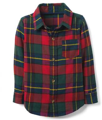 Crazy 8 Crazy8 Toddler Plaid Flannel Shirt