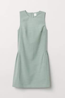 H&M Lyocell-blend Dress - Green