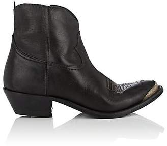 Golden Goose Women's Young Leather Ankle Boots