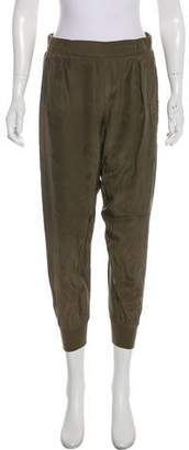 ATM Anthony Thomas Melillo Silk Mid-Rise Joggers