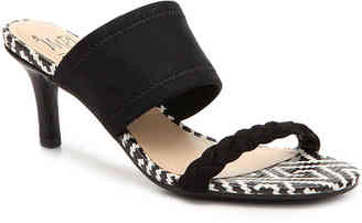 Women's Nolen Sandal -Black/White $58 thestylecure.com