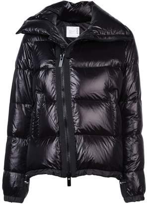 Sacai short puffer jacket