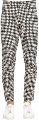 Elwood Houndstooth Tapered Denim Jeans