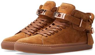 Buscemi 100MM Suede High Sneaker