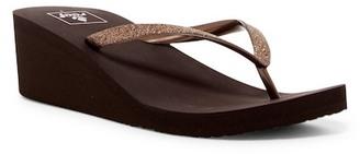 Reef Krystal Star Wedge Sandal (Women) $32 thestylecure.com