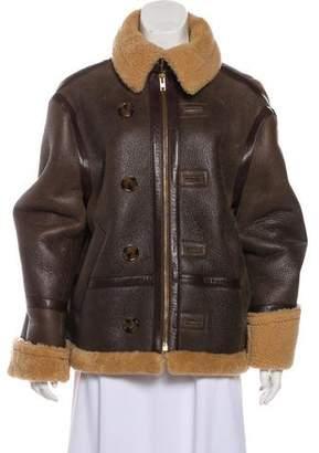 Vetements 2016 Shearling Jacket