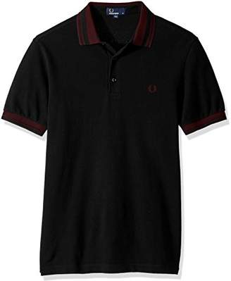 Fred Perry Men's Contrast Collar Pique Shirt