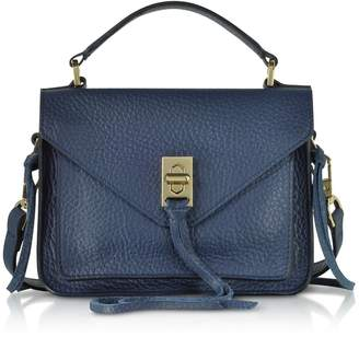 Rebecca Minkoff Glossy Leather Mini Darren Messenger Bag