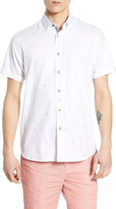 618484ad4 Ted Baker Cheerz Cocktail Coupe Slim Fit Sport Shirt