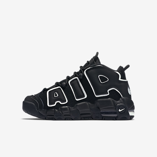 Nike Air More Uptempo Little/Big Kids' Shoe
