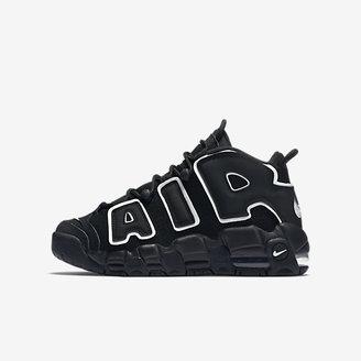 Nike Air More Uptempo Little/Big Kids' Shoe $130 thestylecure.com