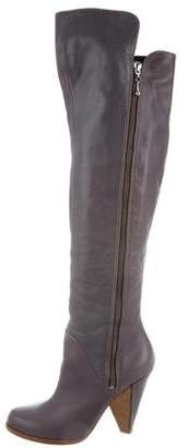 Sigerson Morrison Leather Over-The-Knee Boots