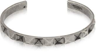 N. Northskull In 'n' Out Aged 925 Silver Plated Brass Cuff
