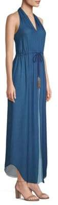 Ramy Brook Daphne Silk Maxi Dress