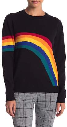 Romeo & Juliet Couture Rainbow Long Sleeve Sweater