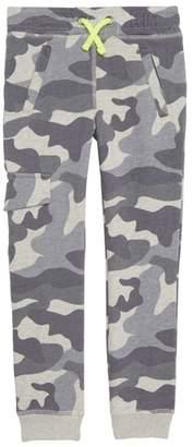 Boden Mini Camo Jersey Jogger Pants
