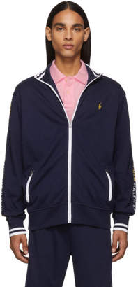 Polo Ralph Lauren Navy Interlock Track Sweatshirt