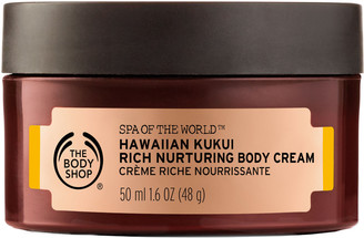 The Body Shop Online Only Spa Of The World Hawaiian Kukui Cream