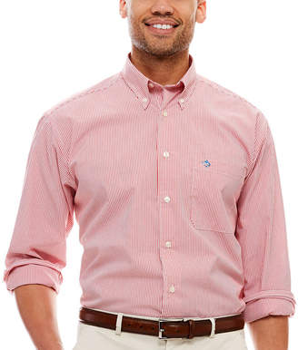 BISCAYNE BAY Biscayne Bay Long-Sleeve Striped Button-Down Shirt