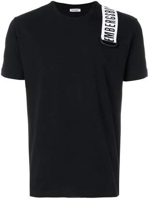 Dirk Bikkembergs logo patch T-shirt
