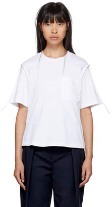 3.1 Phillip Lim White Patch Pocket T-Shirt