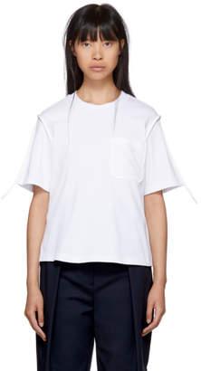 3.1 Phillip Lim White Patch Pocket T-Shirt