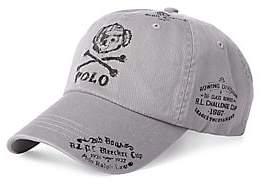 Polo Ralph Lauren Men's Bear& Crossbones Baseball Hat