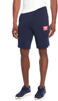 Puma Peacoat Rebel Fleece Sweat Shorts