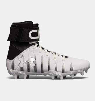 Under Armour Boys' UA C1N Jr. Molded Football Cleats