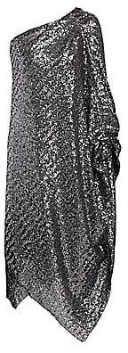 Roland Mouret Women's Worthing One-Shoulder Sequin Cocktail Dress
