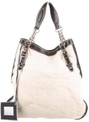 Balenciaga Balenciaga Leather-Trimmed Tote