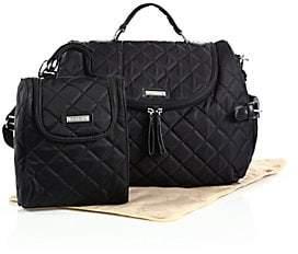 Storksak Women's Poppy 3-Piece Convertible Backpack Diaper Bag