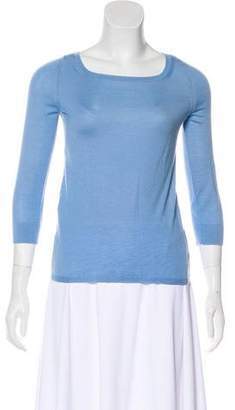 Calvin Klein Collection Cashmere Scoop Neck Sweater