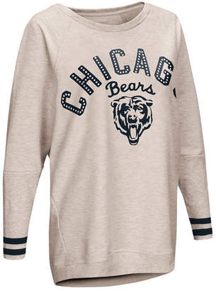Touch by Alyssa Milano Women's Chicago Bears Backfield Long Sleeve Top