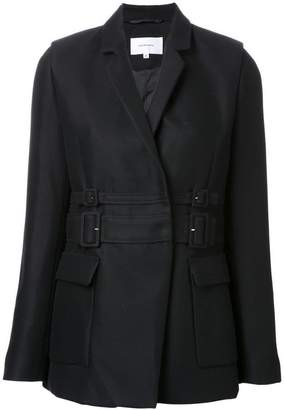 Carven double-belted jacket