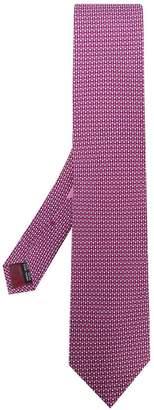 Salvatore Ferragamo micro patterned tie