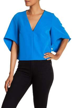 Milly Cascade Beetle Top