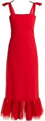 DAY Birger et Mikkelsen STAUD Langdon cotton-blend dress