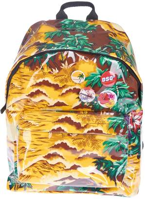 DSQUARED2 Tropical Print Backpack