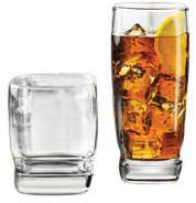 Libbey Carrington 16 Piece Glass Assorted Glassware Set