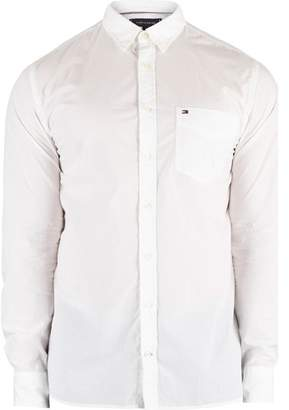 Men's Essential Poplin Shirt, White