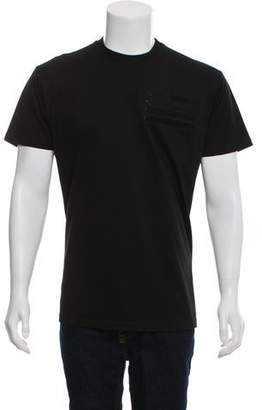 Givenchy Woven Crew Neck T-Shirt