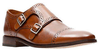 Bostonian Nantasket Leather Monk-Strap Shoes