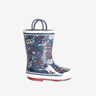 Joe Fresh Toddler Boys' Rain Boots, Blue (Size 8)