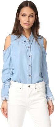 Splendid Indigo Shirt $128 thestylecure.com