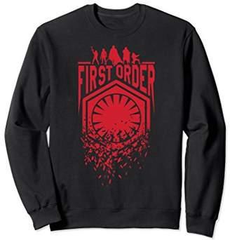 Star Wars Last Jedi First Order Red Fracture Sweatshirt