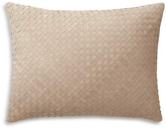 "Ralph Lauren Reade Suede Decorative Pillow, 15"" x 20"""